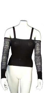 Angelos-Frentzos Long sleeves sweater with straps