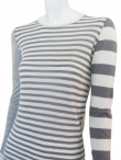 Angelos-Frentzos Multi-stripes t-shirt