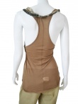 Angelos-Frentzos Embroidered sleeveless t-shirt