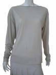 Clare Tough Long sleeve T-Shirt with plunging neckline