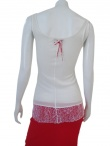 Jennifer Sindon Undershirt with lace