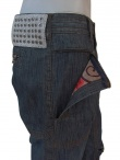 Ysack Pantalone Tasche Ginocchio