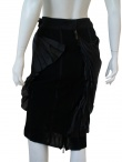 Angelos-Frentzos Shift skirt with accordeon pleats