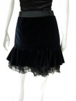 Angelos-Frentzos Short skirt with flounce