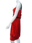 Angelos-Frentzos Pleated dress with lace