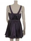 Angelos-Frentzos Accordeon pleated dress with shoulderstraps