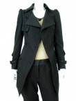 Angelos-Frentzos Trench with curled sleeve