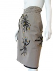 Angelos-Frentzos Wrap-over skirt