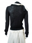Angelos-Frentzos Vnecked jumper with embroideries