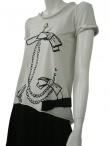 Alberto Incanuti T-shirt con fiocco