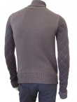 Alberto Incanuti Quilted Turtleneck Sweater