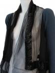 Angelos-Frentzos Embroidery neck jacket