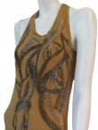 Angelos-Frentzos Undershirt with flame embroidery
