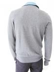 T-skin Sweatshirt with zipper