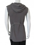 Lumen et umbra Hooded Long Vest