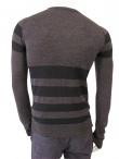 Giulio Bondi Crewneck Striped Sweater