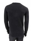 Giulio Bondi Crewneck Sweater with Toggle Fastening