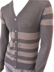 Giulio Bondi Striped Cardigan