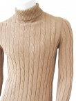 T-Shirt Turtleneck knit