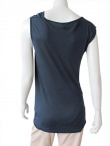 Nicolas & Mark Drapped sleeveless t-shirt