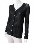 Delphine Wilson Cardigan with pearly buttons