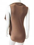 Delphine Wilson Shawl sleeveless t-shirt