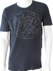 Nicolas & Mark T-shirt with embroidery