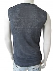Vic-Torian Sleeveless t-shirt with incorporated waistcoat