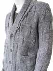 Nicolas & Mark Cardigan collo sciallato