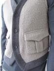 Giulio Bondi Bicolor waistcoat