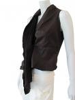 Nicolas & Mark Leather waistcoat