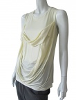 Nicolas & Mark Sleeveless Draped T-shirt
