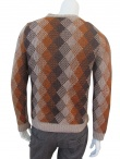 Nicolas & Mark V-neck Jacquard Sweater