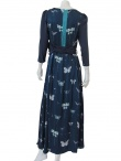 Volod'ja Patterned Long Dress