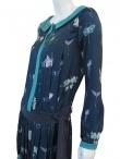 Volod'ja Fantasy Pleated Dress