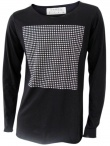JAMES 0706 T-Shirt with Square Pattern