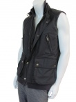 Nicolas & Mark Waistcoat with leather details