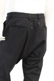 JAMES 0706 Pantalone cavallo basso
