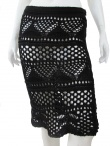 Zone of Influence Maxi skirt crochet