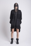 JAMES 0706 Hooded coat