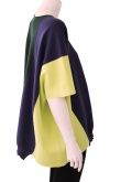 ONE CHOI Rectangular Knit whit stripes