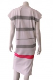 ONE CHOI Dress whit stripes on back