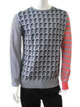 Angelos-Frentzos Longsleeved sweater with skulls
