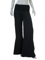 Jennifer Sindon Pant with knit inset