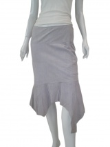 Jennifer Sindon Skirt in suede