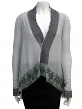 Angelos-Frentzos Cardigan with Embroidery