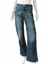Nicolas & Mark Doubled belt Jeans