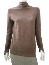 Jan & Carlos Asymetrical Turtleneck Sweater