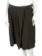Jan & Carlos Skirt in satin with plies