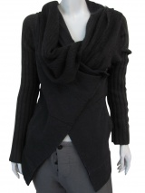 Nicolas & Mark Draped Cardigan
